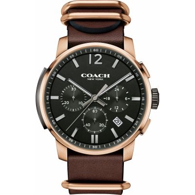 Mens Coach Bleecker Chronograph Watch 14602019