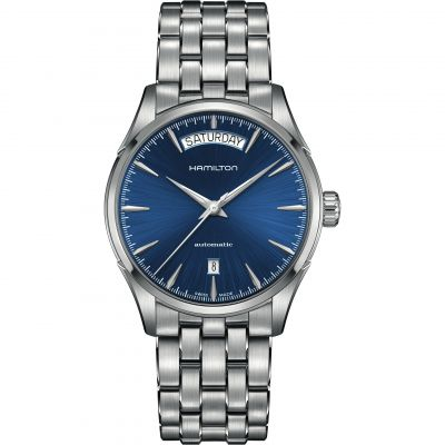 Mens Hamilton Jazzmaster Day Date Automatic Watch H32505141 08957e1672