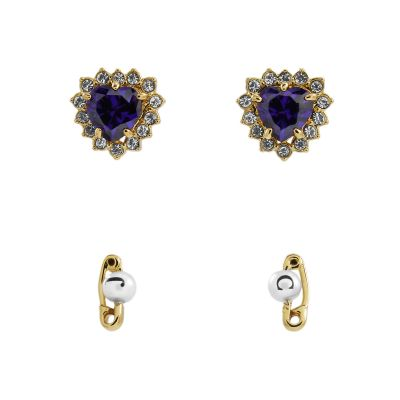 Juicy Couture Dames Earrings Set PVD verguld Goud WJW598-533-U