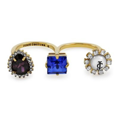 Damen Juicy Couture Ring PVD vergoldet WJW603-710-6
