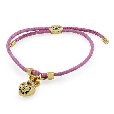 Juicy Couture Dames Bracelet PVD verguld Goud WJW622-532-U