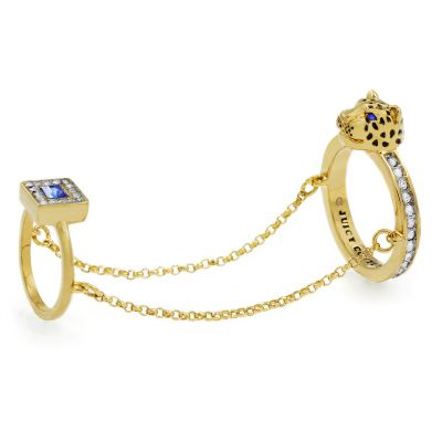 Ladies Juicy Couture PVD Gold plated Ring WJW638-710-6