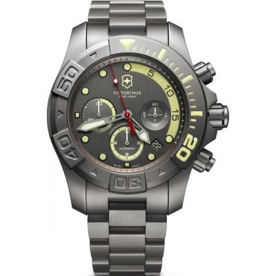 Victorinox Swiss Army Divemaster 500 Limited Edition Herrkronograf Grå 241660