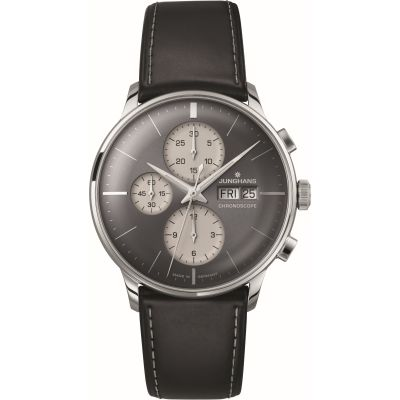 Mens Junghans Meister Chronoscope Chronograph Watch 027/4525.01