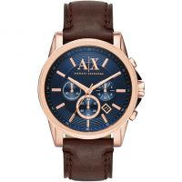 Mens Armani Exchange Chronograph Watch AX2508