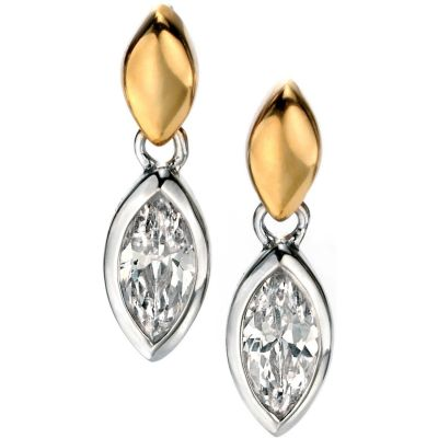 Ladies Fiorelli Sterling Silver Earrings E5082C