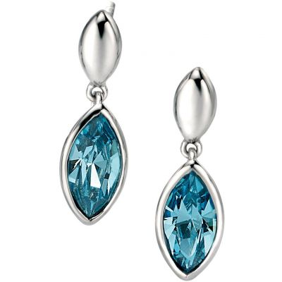 Ladies Fiorelli Sterling Silver Earrings E4854T