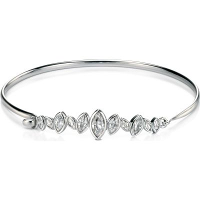 Ladies Fiorelli Sterling Silver Bangle B4715C