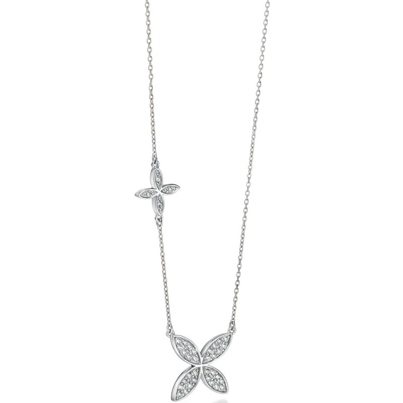 Ladies Fiorelli Sterling Silver Necklace N3721C