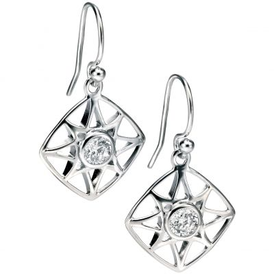 Ladies Fiorelli Sterling Silver Earrings E4995C