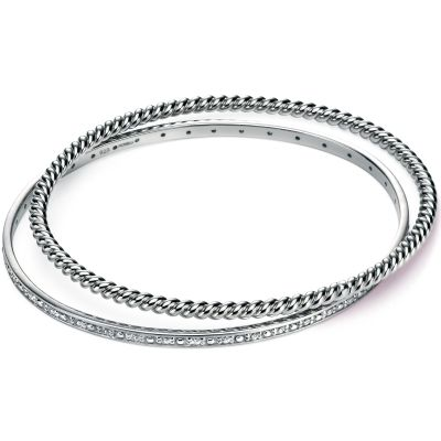 Ladies Fiorelli Sterling Silver Bangle B4652C