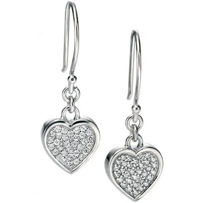 Ladies Fiorelli Sterling Silver Earrings E4852C