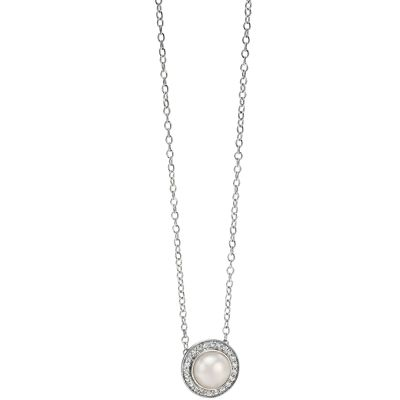 Ladies Fiorelli Sterling Silver Necklace N3730W