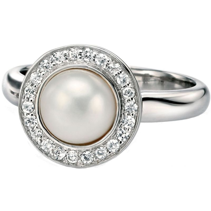 Ladies Fiorelli Sterling Silver Ring R3304WL