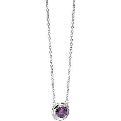 Ladies Fiorelli Sterling Silver Necklace N3728M