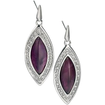 Biżuteria damska Fiorelli Jewellery & Amethyst Earrings E5003M