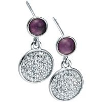 Ladies Fiorelli Sterling Silver Earrings E5000M