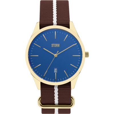 Unisex STORM Morley Watch MORLEY-GD-BLUE
