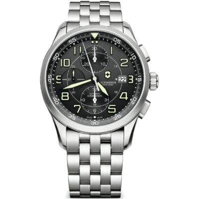 Mens Victorinox Swiss Army Airboss Automatic Chronograph Watch 241620