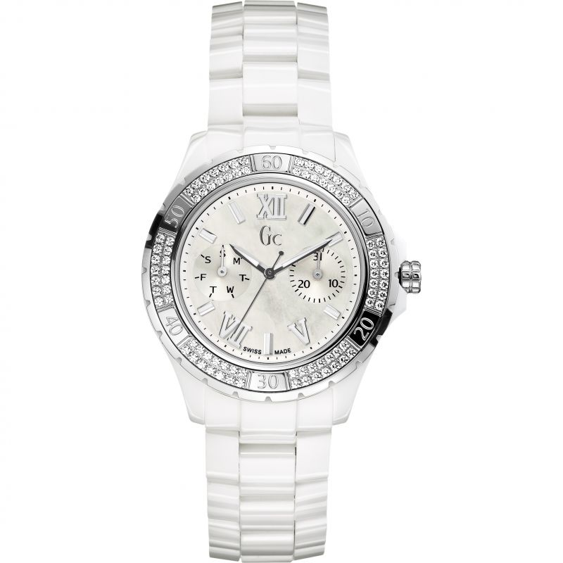 Ladies Gc Ceramic Watch X69111L1S