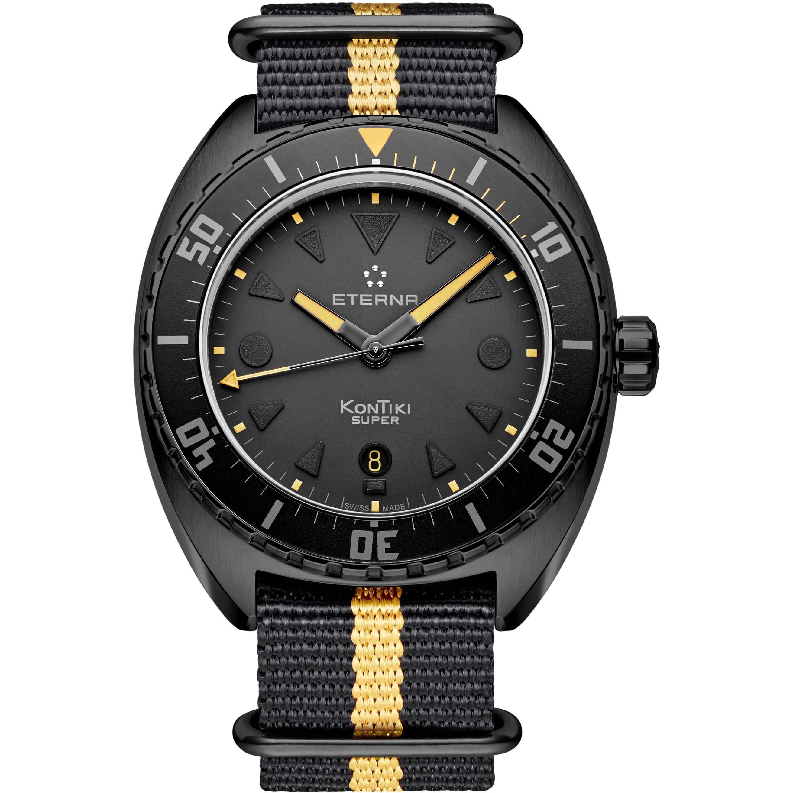 ae13c7b72db Gents Eterna Super Kon Tiki Black Limited Edition Watch (1273.43.41.1365)