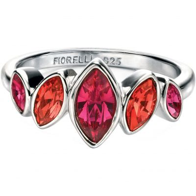 Damen Fiorelli Ring Sterling-Silber R3404N