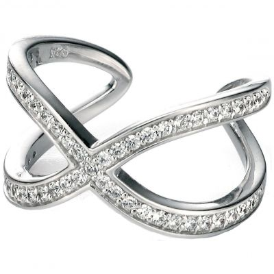 Damen Fiorelli Ring Sterling-Silber R3301CN