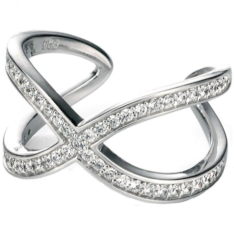 Ladies Fiorelli Sterling Silver Ring R3301CO.5
