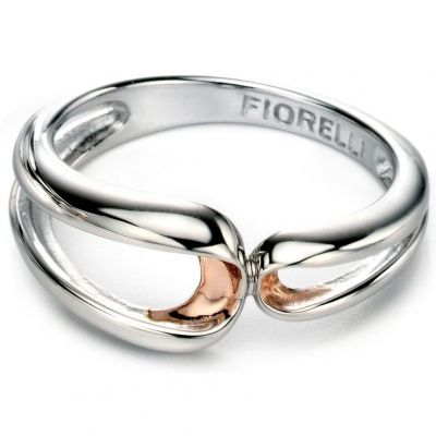 Damen Fiorelli Ring Sterling-Silber R3408N