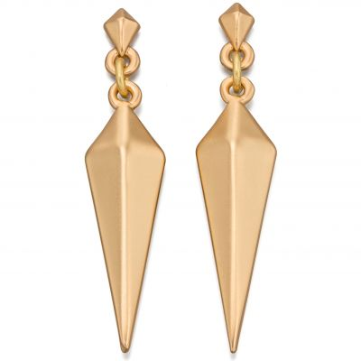 Ladies Fiorelli PVD Gold plated Earrings E5066