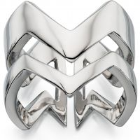 Ladies Fiorelli PVD Silver Plated Ring R3391M