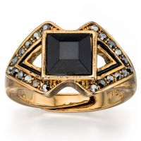 Ladies Fiorelli PVD Gold plated Ring R3400