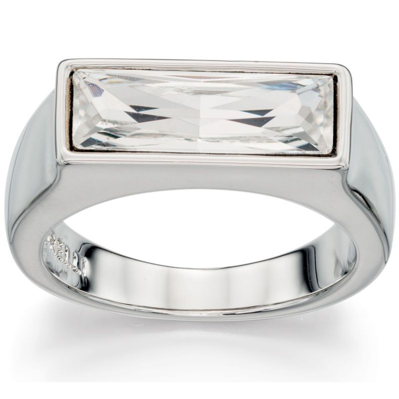 Ladies Fiorelli PVD Silver Plated 00 Ring R3401M