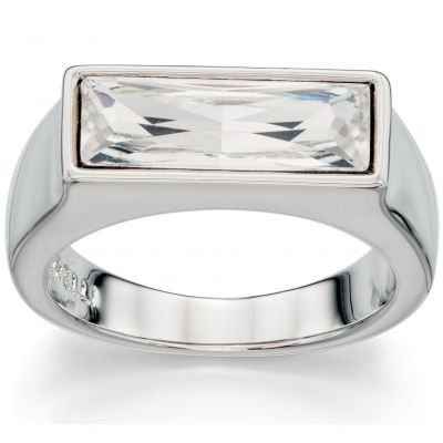 Ladies Fiorelli PVD Silver Plated Ring R3401L