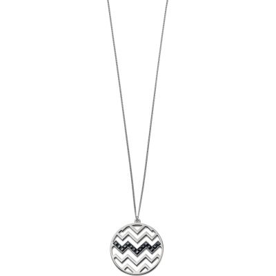 Ladies Fiorelli PVD Silver Plated Necklace N3871