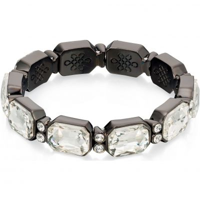 Ladies Fiorelli Black Ion-plated Steel Bracelet B4711