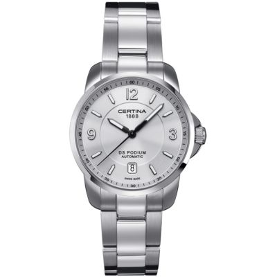 Certina DS Podium Herenhorloge Zilver C0014071103700