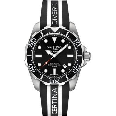 Certina DS Action Diver Herenhorloge Zwart C0134071705101