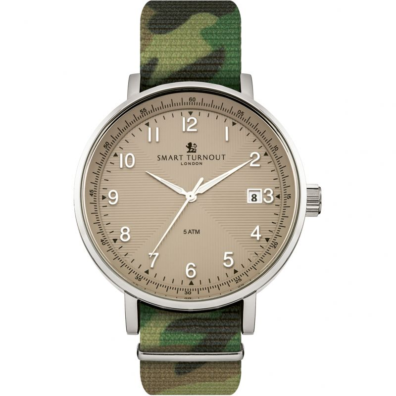 Mens Smart Turnout Watch STH3/BE/56/W-CAMO