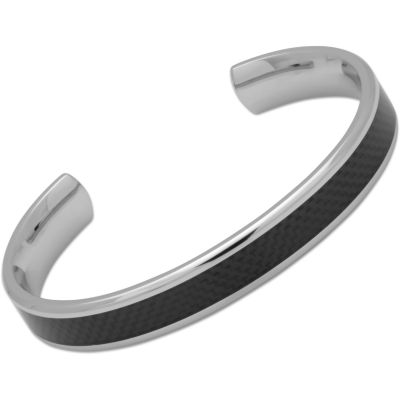 Mens Unique & Co Stainless Steel Bangle QB-90/L