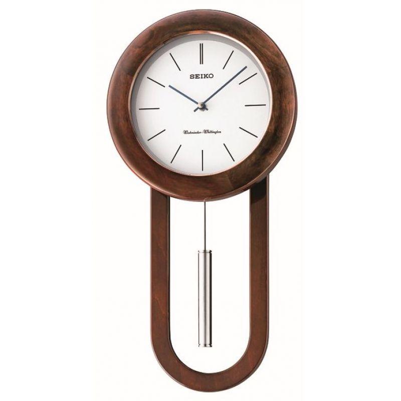 Seiko Clocks Pendulum Long Case Chiming Wall Clock