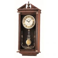 Seiko Clocks Pendulum Long Case Chiming Wall Clock