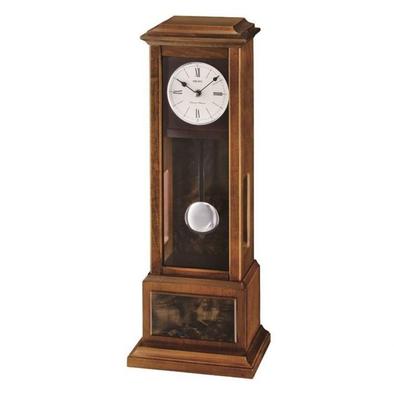 Seiko Clocks Wooden Wall Mantel Chiming Pendulum Clock