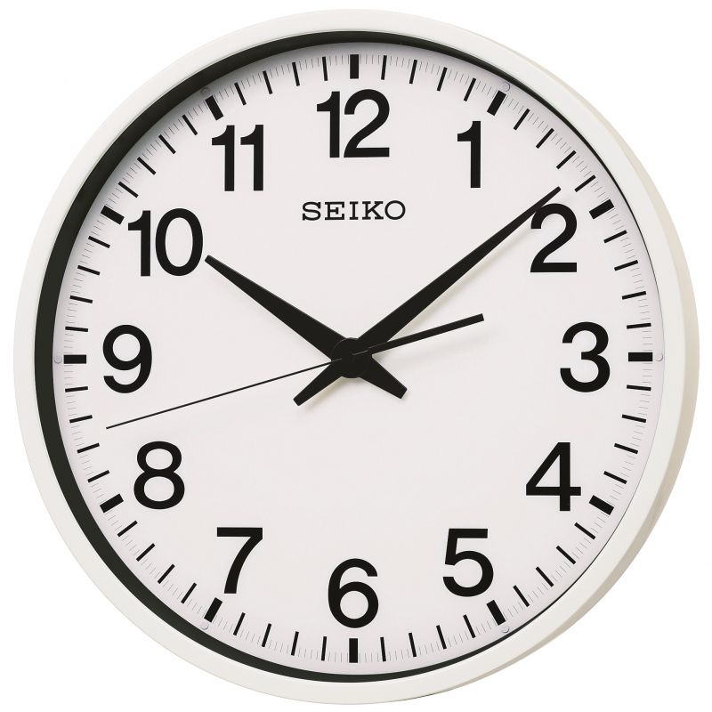 Seiko Clocks Spacelink GPS Wall Clock Radio Controlled