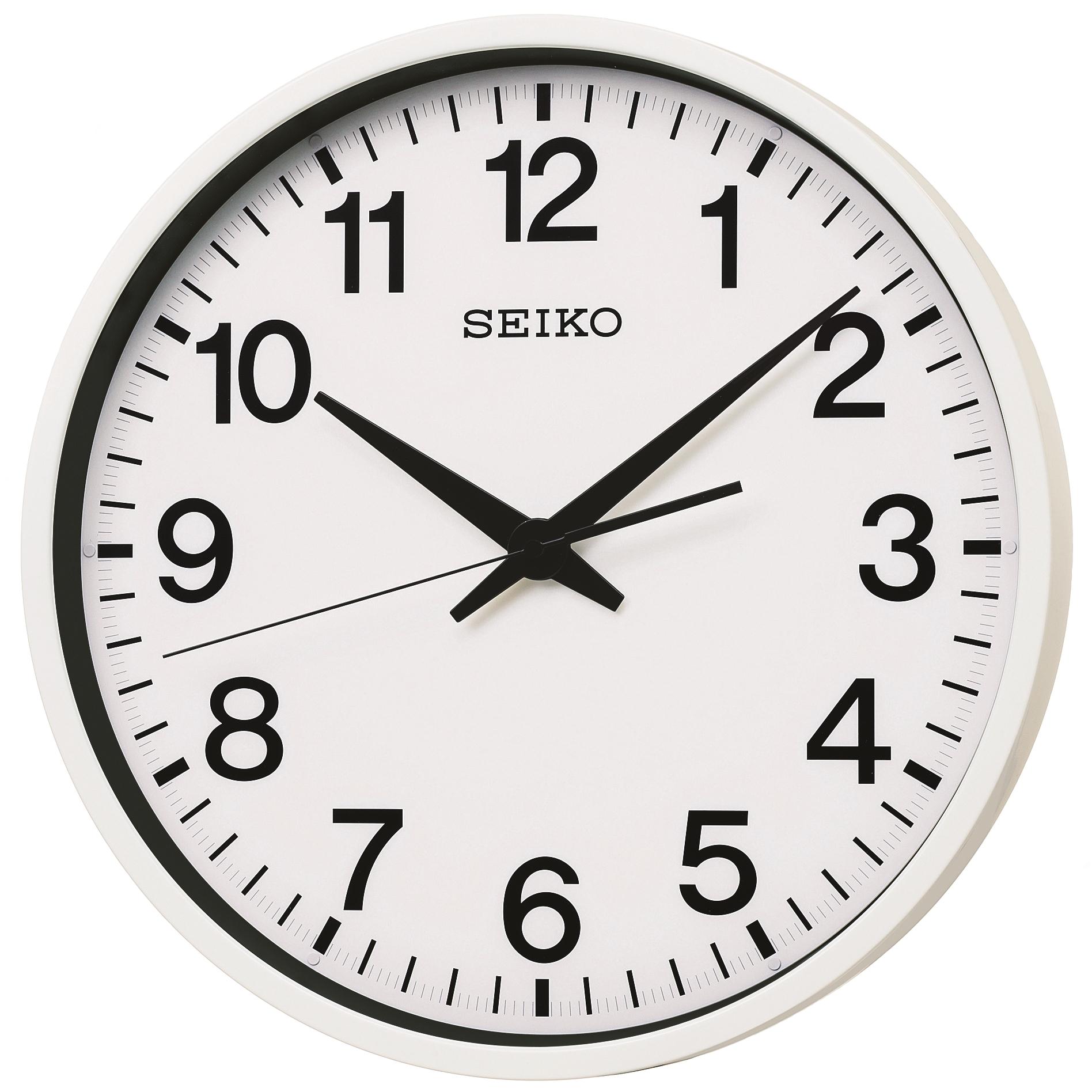 Clock Seiko Clocks Spacelink Gps Wall Clock Watch Qxz001w