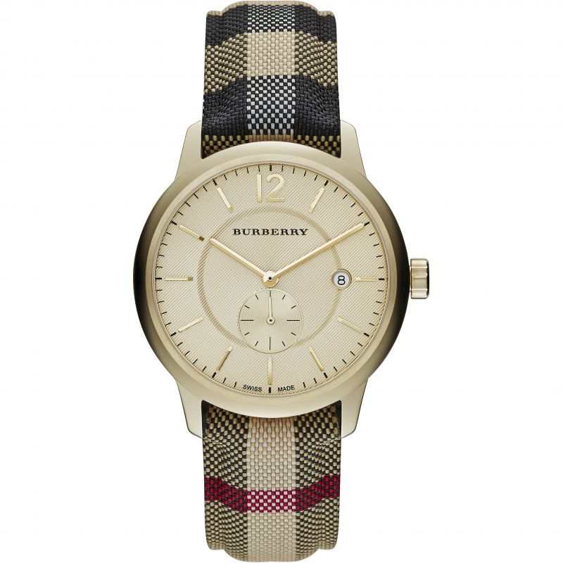 Mens Burberry The Classic Horseferry Check Watch