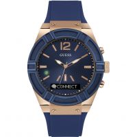 Unisex Guess Connect Bluetooth Hybrid Smartwatch Watch C0001G1