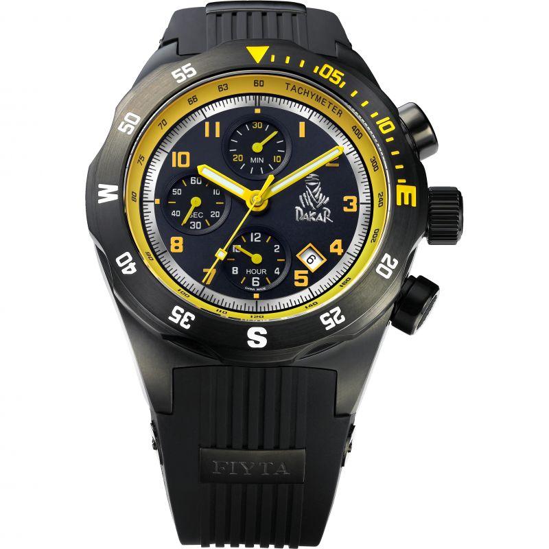 Mens Fiyta Extreme Dakar Rally Limited Edition Automatic Chronograph Watch