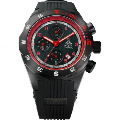 Mens FIYTA Extreme Dakar Rally Limited Edition Automatic Chronograph Watch GA8188.BTB