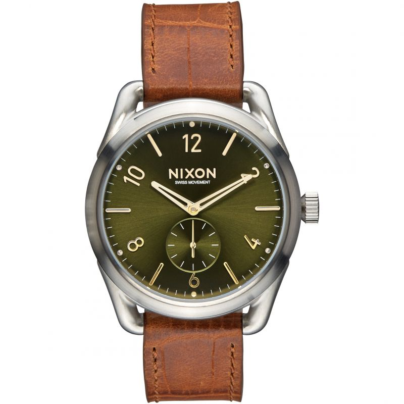 Unisex Nixon The C39 Leather Watch A459-1888